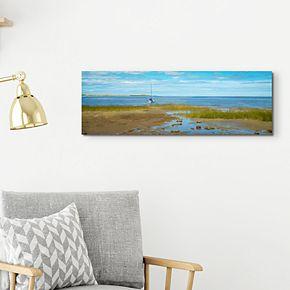 "Still Water 12"" x 36"" Canvas Wall Art"