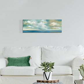 "Cloudscape Vista II 12"" x 36"" Canvas Wall Art"