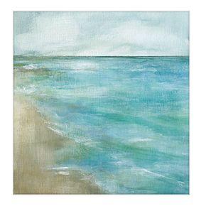 "Gentle Tides 35"" x 35"" Canvas Wall Art"