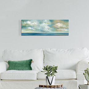 """Cloudscape Vista II 16"""" x 48"""" Canvas Wall Art"""