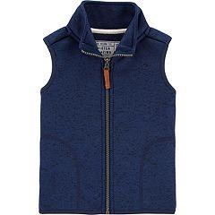 Toddler Boy Carter's Fleece Vest