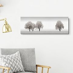 Tree Line Canvas Wall Art
