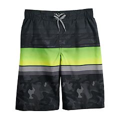 Boys 8-20 ZeroXposur Grom Striped Swim Trunks