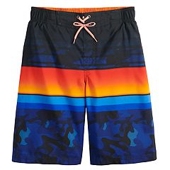 dba28b907394d Boys 8-20 ZeroXposur Grom Striped Swim Trunks