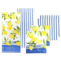 Food Network™ Lemons Kitchen Towel & Dishcloth Set