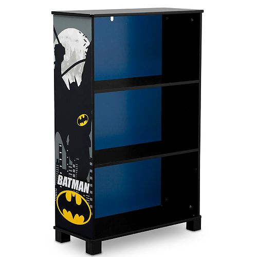 Delta Children DC Comics Batman Deluxe 3 Shelf Bookcase