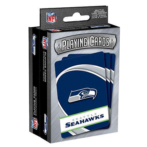 Seattle Seahawks Playing Cards Set