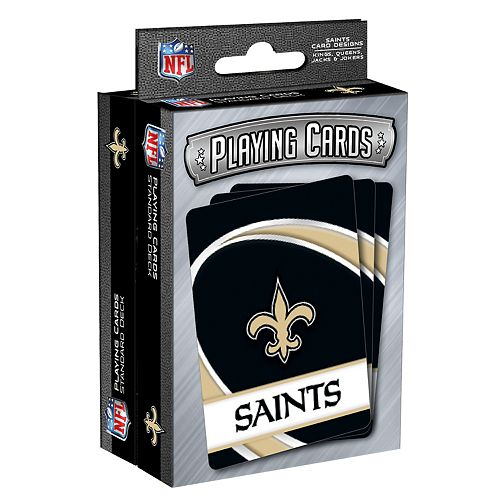 New Orleans Saints Playing Cards Set