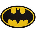 Delta Children DC Comics Batman Oval Area Rug