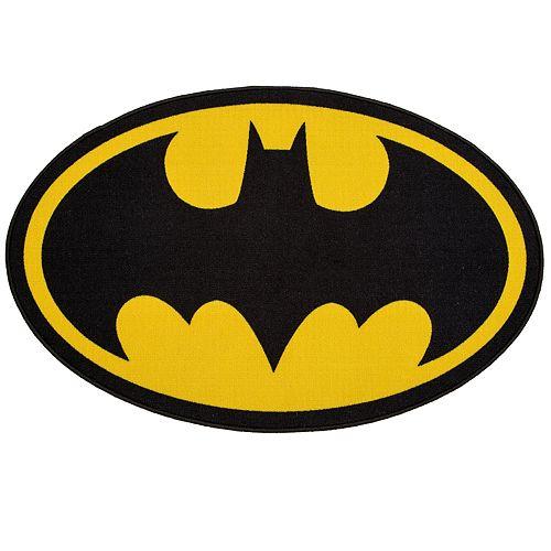 Delta Children DC Comics Batman Oval Area Rug