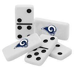 Los Angeles Rams Double-Six Collectible Dominoes Set