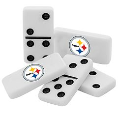 Pittsburgh Steelers Double-Six Collectible Dominoes Set