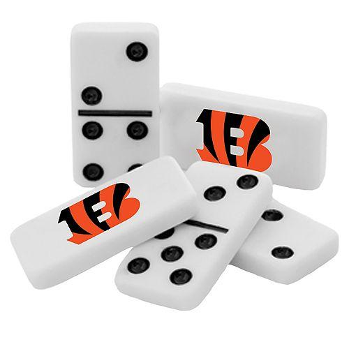 Cincinnati Bengals Double-Six Collectible Dominoes Set