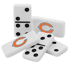 Chicago Bears Double-Six Collectible Dominoes Set