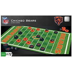 Chicago Bears Checkers Board Game