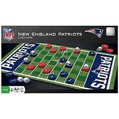 New England Patriots Checkers Board Game
