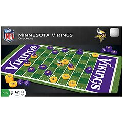 Minnesota Vikings Checkers Board Game