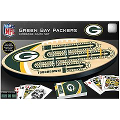 Green Bay Packers Cribbage Game Set