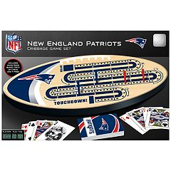 New England Patriots Cribbage Game Set