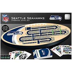 Seattle Seahawks Cribbage Game Set