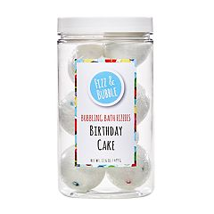 Fizz & Bubble Birthday Cake Bubbling Bath Fizzies