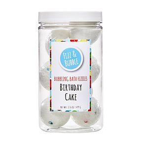 Fizz & Bubble Birthday Cake Bubbling Bath Fizzies