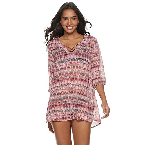2649816523e7f Women's Apt. 9® Strappy Ikat Cover-Up
