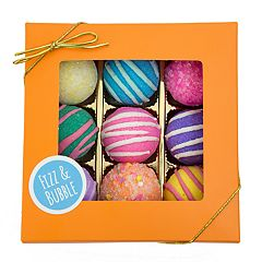 Fizz & Bubble 9-Pack Fruit & Floral Bath Bombs