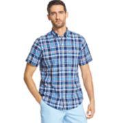 Men's IZOD Saltwater Dockside Slim-Fit Chambray Button-Down Shirt