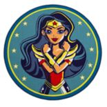Delta Children DC Comics Wonder Woman Area Rug