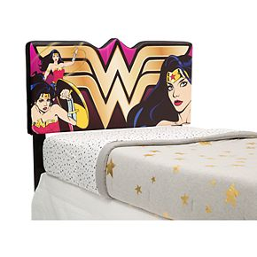 Delta Children DC Comics Wonder Woman Upholstered Twin Headboard
