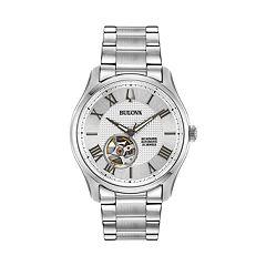 Bulova Men's Wilton Stainless Steel Automatic Watch - 96A207