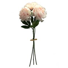 SONOMA Goods for Life™ Artificial Pink Peony Stem Bundle Decor