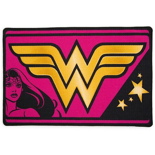Delta Children DC Comics Wonder Woman Soft Area Rug
