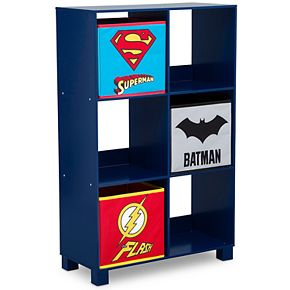 Delta Children Justice League 6-Cubby Deluxe Storage Unit