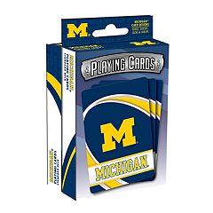 Michigan Wolverines Playing Cards Set