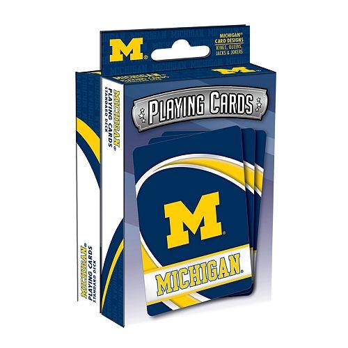 Michigan Wolverines Playing Cards Set