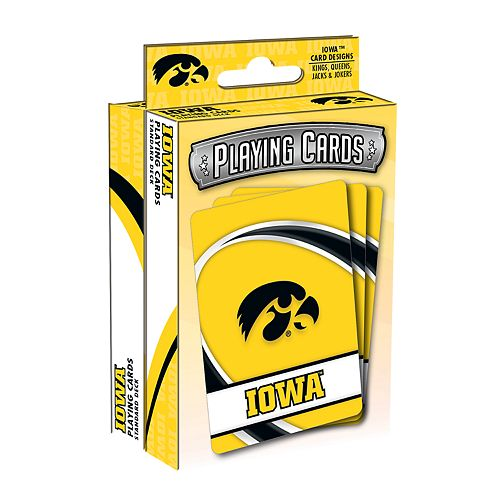 Iowa Hawkeyes Playing Cards Set