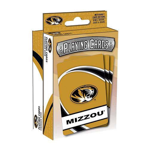Missouri Tigers Playing Cards Set
