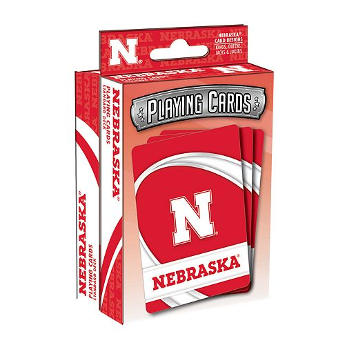 Nebraska Cornhuskers Playing Cards Set