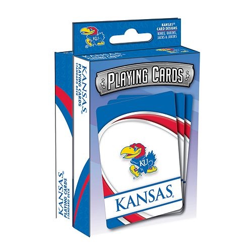 Kansas Jayhawks Playing Cards Set