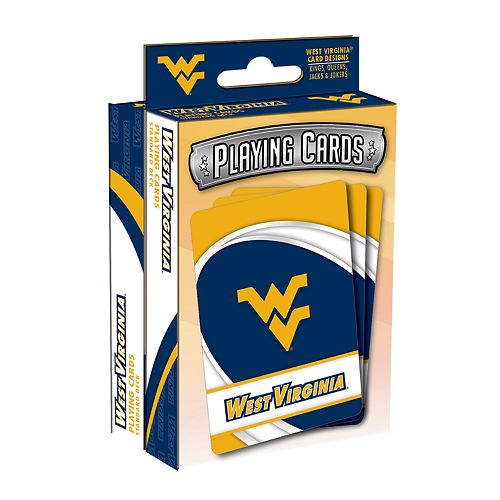 West Virginia Mountaineers Playing Cards Set