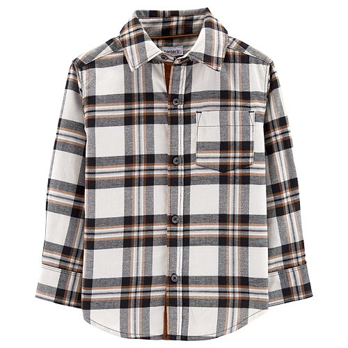 Toddler Boy Carter's Woven Button Down Shirt