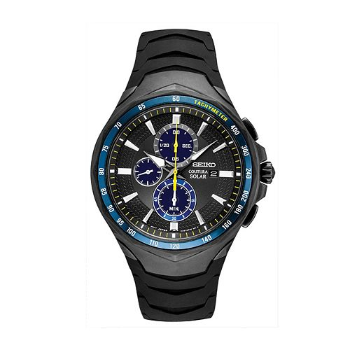 Seiko Men's Coutura Jimmie Johnson Special Edition Solar Chronograph Watch - SSC697