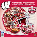 Wisconsin Badgers 500-Piece Helmet Puzzle