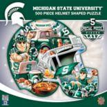 Michigan State Spartans 500-Piece Helmet Puzzle