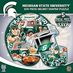 Michigan State Spartans 500-Piece Helmet Puzzle