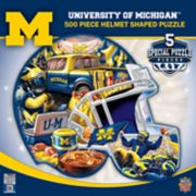 Michigan Wolverines 500-Piece Helmet Puzzle