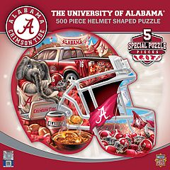 Alabama Crimson Tide 500-Piece Helmet Puzzle