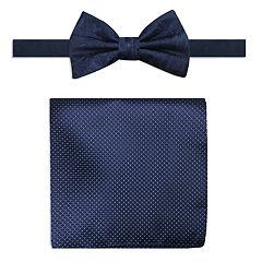 Men's Steve Harvey Bow Tie and Pocket Square Set